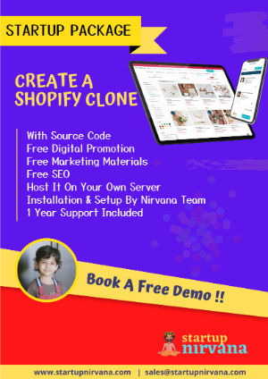 shopify clone startup